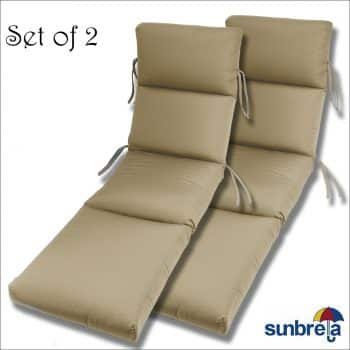 Comfort Classics Inc. Sunbrella Chaise Cushion