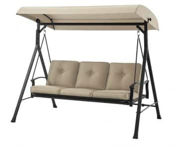 Mainstay 3 Seat Porch and Patio Swing