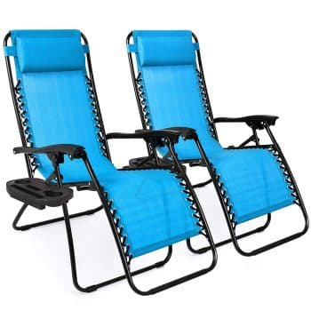 Best Choice Products Adjustable Zero Gravity Lounge Chair