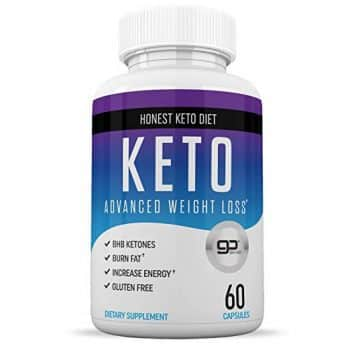 Keto Diet Pills from Shark Tank - Helps Block Carbohydrates - Weight Loss Supplement for Women & Men - Burn Fat Instead of Carbs - BHB Salts - 60 Capsule
