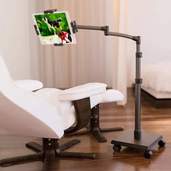 LEVO Deluxe iPad Floor Stand for all Best Tablet PCs