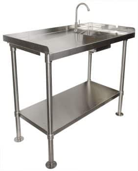 RITE-HITE Stainless-Steel Fillet Cleaning Table