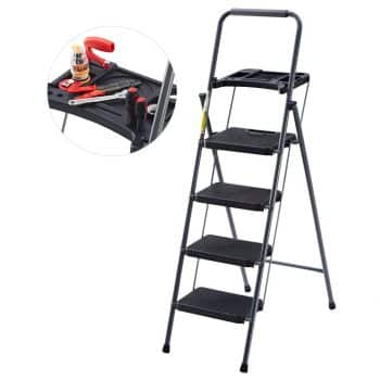 Finether Folding 4 Step Ladder