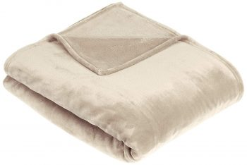 Pinzon Velvet Plush Throw Blanket