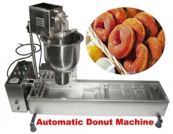 Commercial Automatic Donut Maker Frying Machine