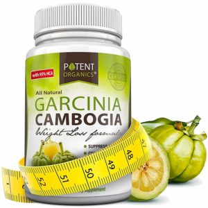 Pure Garcinia Cambogia Extract - 95% HCA Capsules - Best Weight Loss Supplement - Non-GMO - Gluten & Gelatin Free - Natural Appetite Suppressant - 100% Money Back Guarantee - Order Risk-Free! 60 Caps® (1 Month Supply)