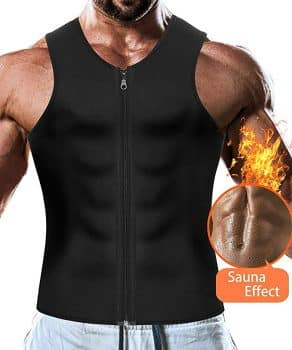 Men Waist Trainer Vest Weightloss Hot Neoprene Corset Compression Sweat Body Shaper Slimming Sauna Tank Top Workout Shirt