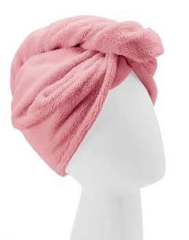 Turbie Twist Microfiber Hair Towel Wrap [Single Pack] – The Original Microfiber Hair Wrap As Seen On TV! Available in Pink
