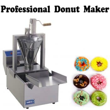 Compact Donut Fryer Maker