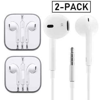 Gaea Earphones with Microphone Premium Earbuds Stereo Headphones and Noise-Isolating Headset Made for Apple iPhone iPod iPad Samsung