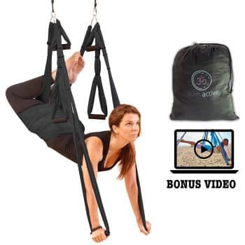 Yoga Swing + Aerial Yoga Inversion Video