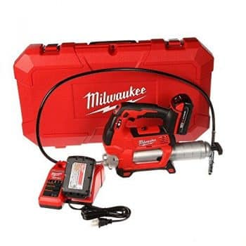 Milwaukee 2646-22 CT M18 18-Volt Lithium-Ion Cordless 2-Speed Grease Gun 2-Battery Kit