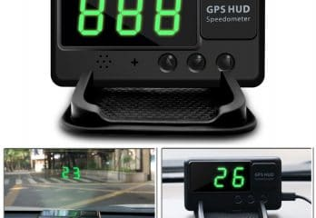 VJOYCAR C60 Universal Hud Heads GPS Speedometer for car