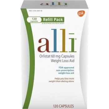 Alli Diet Pills for Weight Loss