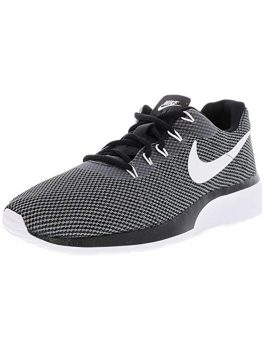 NIKE Men's Tanjun Sneakers, Breathable Textile Uppers