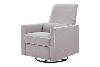DaVinci Piper All-Purpose Upholstered Recliner and Swivel Glider