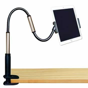 GEEPIN Clamp Mount Tablet Stand for iPad and iPhone