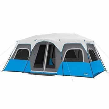 CORE Lighted 18' x 10' Instant Cabin Tent - 12 People