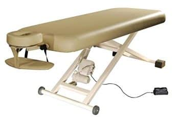 Electric Massage Table With Arm Shelf & Headrest