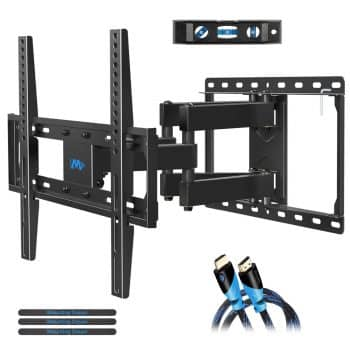 Mounting Dream TV Bracket With Swivel Articulating Dual Arms
