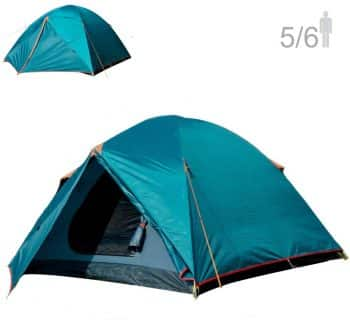 NTK Colorado 5-6 Person Waterproof Tent Coverage