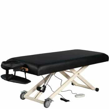 SierraComfort Black Electric Lift Massage Work Table