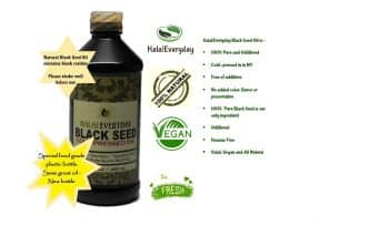 PURE BLACK SEED OIL - 16 OZ - Unfiltered