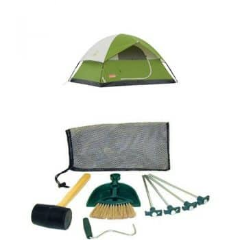 Coleman Sundome Best 4-person tents With Tent Kit