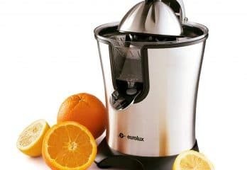 Eurolux Electric Orange Squeezer Juicer Stainless Steel 160 Watts
