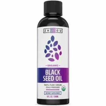 USDA Certified Organic Black Seed Oil - 100% Virgin