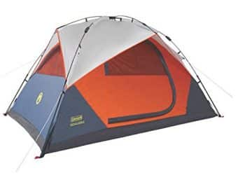 Coleman Dome Durable Tent With Integrated Rainfly