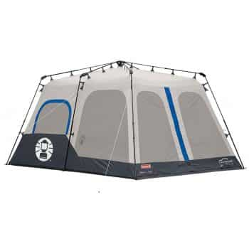 Coleman Wide 8 Person Tent With Inverted Seams