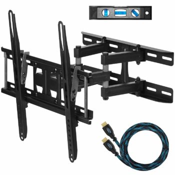 Cheetah Dual Articulating Wall Mount With 10-Inch HDMI Cable
