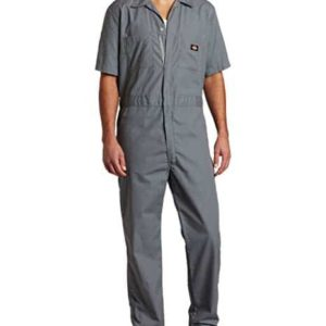 Men's Short Sleeve Coverall Big-Tall