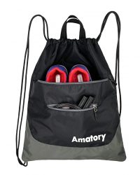 Drawstring Backpack Sports Athletic Gym String Bag