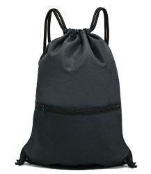 HOLYLUCK Drawstring Backpack Bag Sport Gym