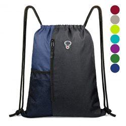 Drawstring Backpack Sports Gym Bag