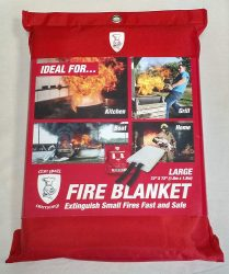 The Grill Armory Fire Blanket
