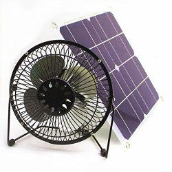Solar Fan 10W 6inch Fan Powered Ventilation Caravan