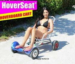 Hover seat sitting attachment - best Hoverboard Carts