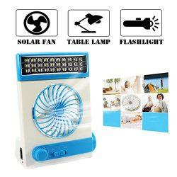 Ansee Solar Fan Camping Fan