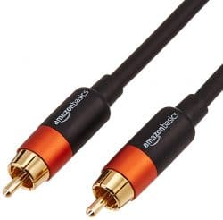 AmazonBasics Digital Audio Coaxial Cables