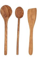 Scanwood Olive Wood Utensil Spatula