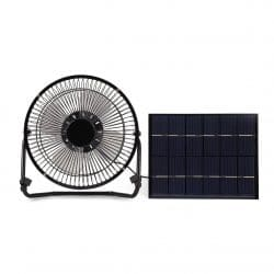 Solar Panel Powered mini Portable Fan