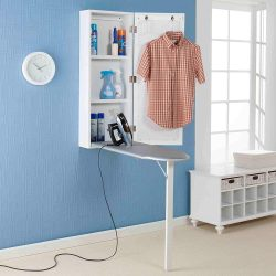 Upton Home Space Saving Wall Mounted Ironing Board