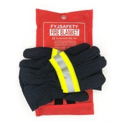 FYJENNICC Emergency Survival Fiberglass Fire Blanket