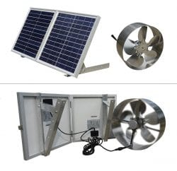ECO-WORTHY Solar Powered Attic Ventilator