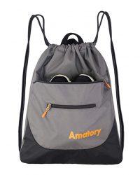 Drawstring Backpack Sports Athletic Gym String Bag