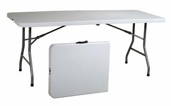 1. Office Star Resin Multipurpose Rectangle Folding Picnic Table