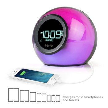 1. iHome iBT29BC Best Bluetooth Alarm Clock